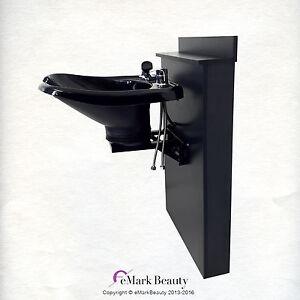 Tilting Contour Abs Plastic Shampoo Bowl Shampoo Sink