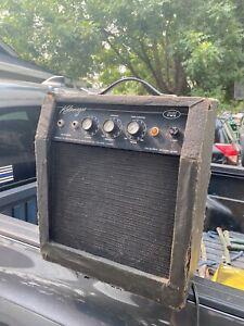"Vintage Kalamazoo ""Model Two"" Tube Amp Guitar Amplifier TURNS ON"