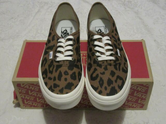 Vans Authentic 44 DX Leopard Anaheim Factory OG VN0A38ENVL0 Men's US Size 11