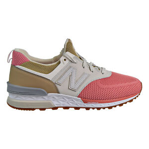 48019a700d1 New Balance 574 Sport Men's Shoes Peach/Tan/White MS574-EKF | eBay