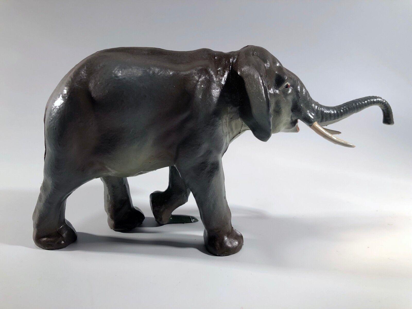 Éléphant BF WeißHERIE-FRÈRES sujet en en en plomb creux +boite d'origine antique toy 653772