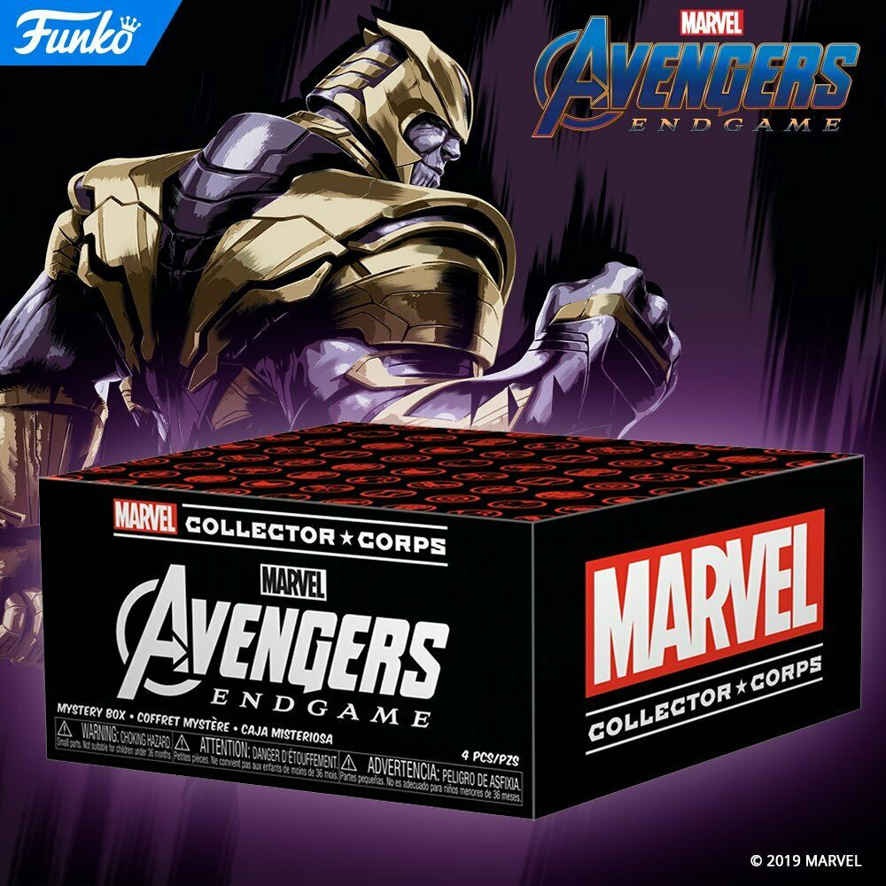 Funko Marvel Collector Corps Avengers Endgame Subscription Box