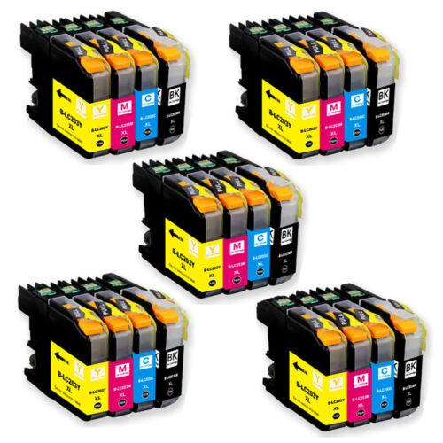 20 PK CMYK XL Ink Cartridge Combo for Brother LC203 MFC J680DW J880DW J885DW