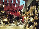 Maroc - Marrakech - Marchands de Cuivre au Souk des Teinturiers