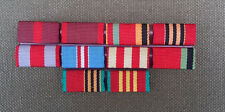 UDSSR Interimsspange Spange 10 teilig Uniform Orden Offizier  CCCP Sowjet Armee