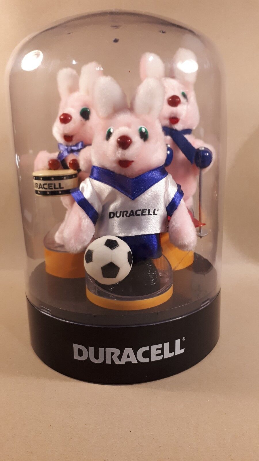 Duracell Bunny shop display adgreenising 1990s