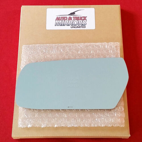 Mirror Glass 03-07 CADILLAC CTS Driver Left Side Blue Tint