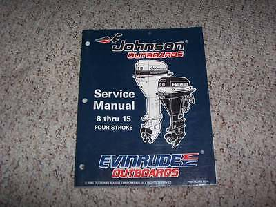 1996 Johnson Evinrude 8 9 9 15 HP Outboard Motor Shop