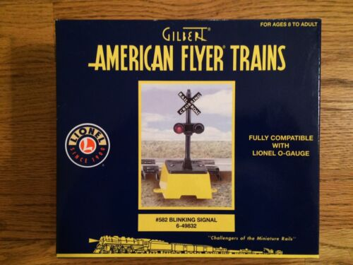 New in Box American Flyer by Lionel 49832 # 582  Blinking Signal