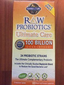 Garden Of Life Ultimate Care Raw Probiotics 30 Capsules 34 Strains 100 Billion Ebay