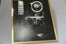 "Steam engine professional photographs, professionally printed, 21"" x 17"" B&W 1"
