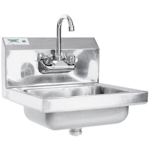 17 Quot X 15 Quot Wall Mount Nsf Hand Wash Sink Commercial