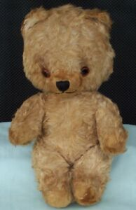 Vintage-Old-Teddy-Bear-jointed-Character-cute-Toy