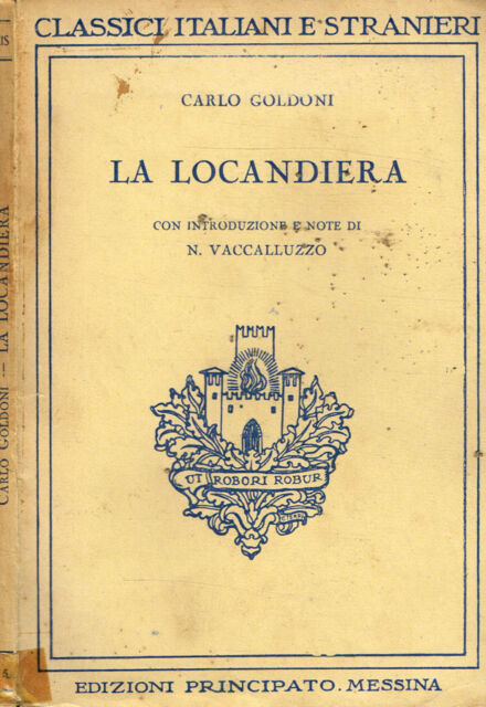 La Locandiera Carlo Goldoni 1925 Iiied Ebay