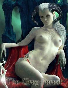 fantasy girls Nude goth