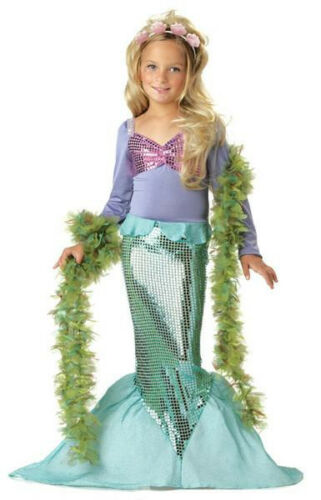 Little Mermaid Ariel Child Girl Dress Up Costume