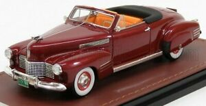 GLM-MODELS 1/43 CADILLAC   SERIES 62 CONVERTIBLE OPEN 1941   RED MET