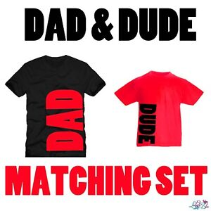 061c55bb8 Red Dad And Dude Matching T-Shirt Set | Father Son | Dad N Lad ...