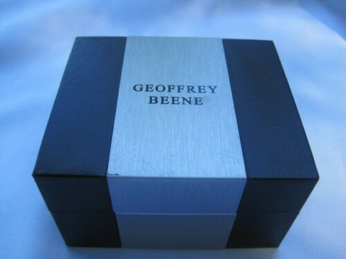 $35 Black Onyx Cufflinks Retail or more Geoffrey Beene Silver-Tone Greek Key