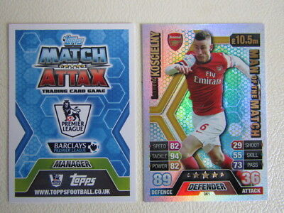 Santi Cazorla Arsenal motm Match Attax Premier League 2013//2014