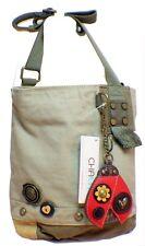 Chala Purse Handbag Canvas Crossbody with Key Chain Tote Bag Lady Bug