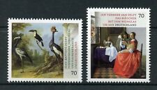 Germany 2017 MNH Treasures of Museums Paintings Vermeer Oudry 2v Set Art Stamps