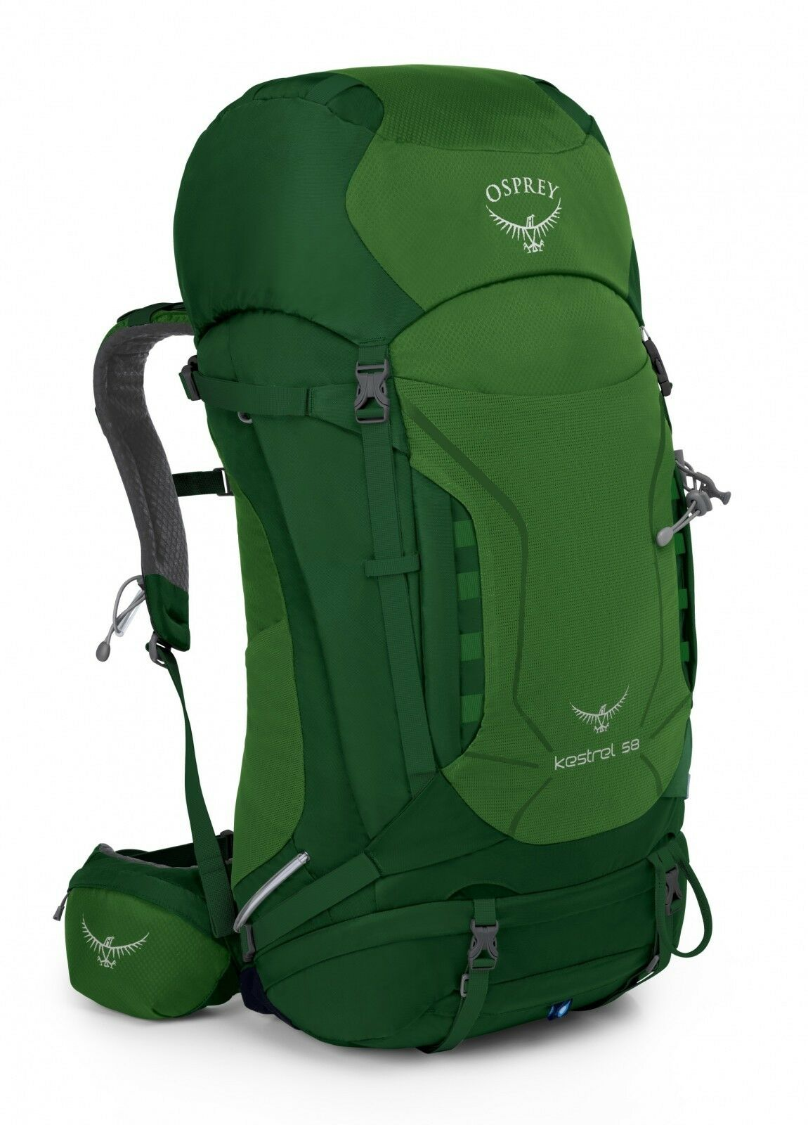 Osprey Zaino Kestrel 58 S   M Jungle verde