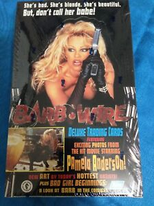 Barb-Wire-Trading-Cards-Box-Factory-sealed-Topps-Pamela-Anderson