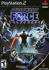 ***STAR WARS THE FORCE UNLEASHED PS2 PLAYSTATION 2 DISC ONLY~~~