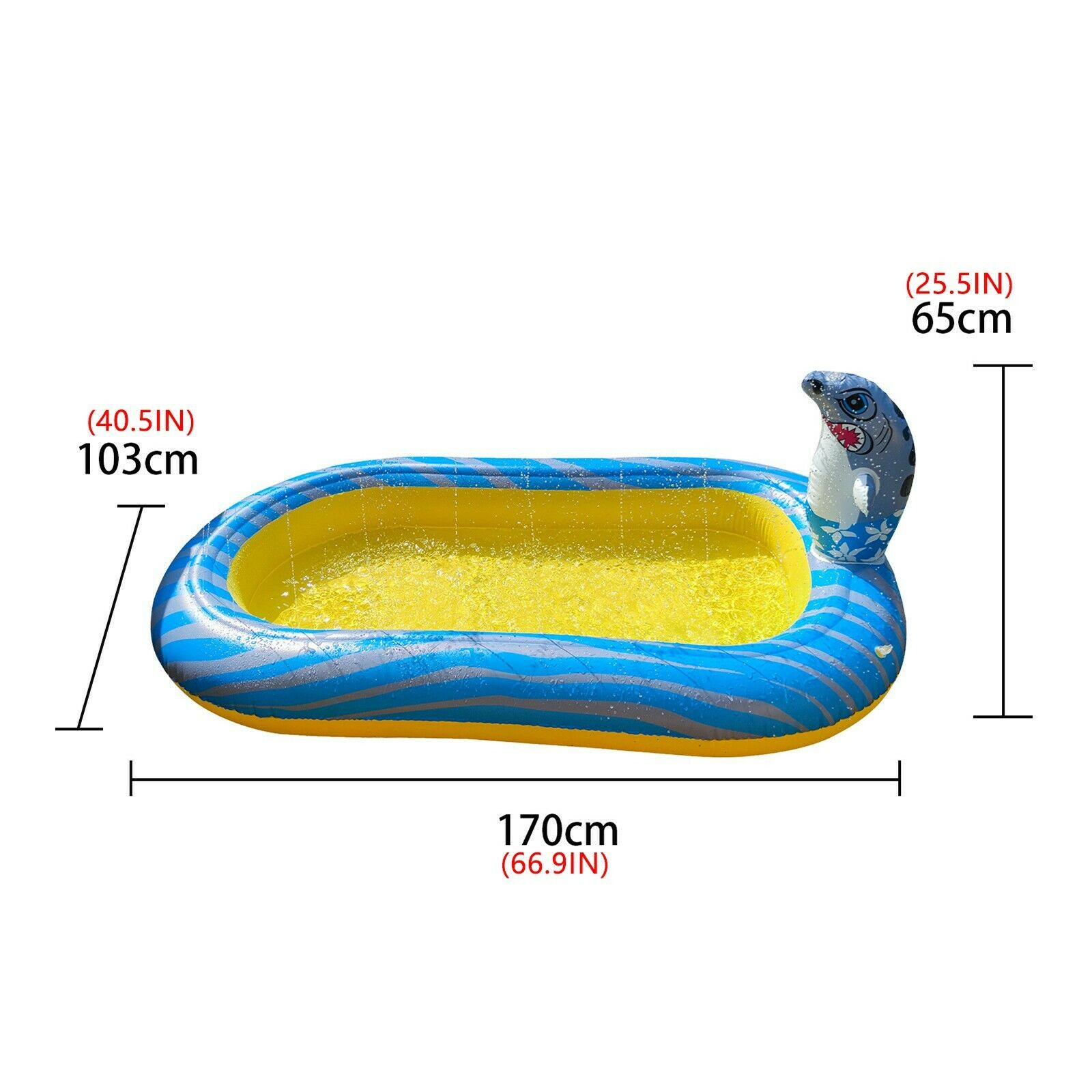 Inflatable Dinosaur Outdoor Play Pool Children's Indoor Swimming Pool Beach Toys