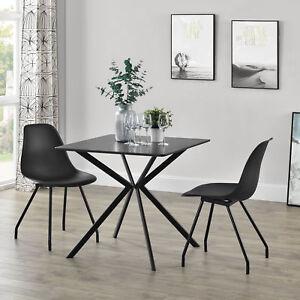 Details zu en.casa® Esstisch Küchentisch Esszimmertisch Besprechungstisch Konferenz Tisch