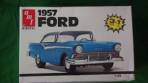 VINTAGE AMT ERTL 1957 FORD CAR MODEL KIT 125 6584 - <span itemprop='availableAtOrFrom'>Hereford, United Kingdom</span> - Returns accepted Most purchases from business sellers are protected by the Consumer Contract Regulations 2013 which give you the right to cancel the purchase within 14 days after the day - <span itemprop='availableAtOrFrom'>Hereford, United Kingdom</span>