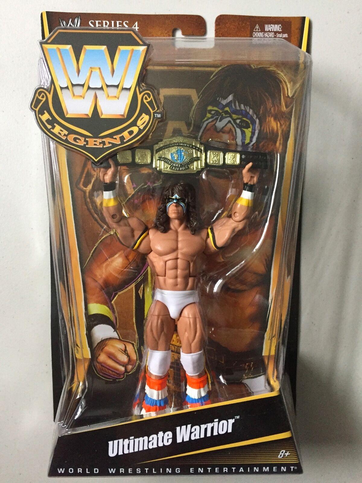 WWE Mattel Elite Legends ULTIMATE WARRIOR Wrestling Figure WWF
