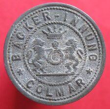 Rare Deutsche token - Colmar - Elsass - Backer - 5 pf - 5829.1 - mehr am ebay.pl
