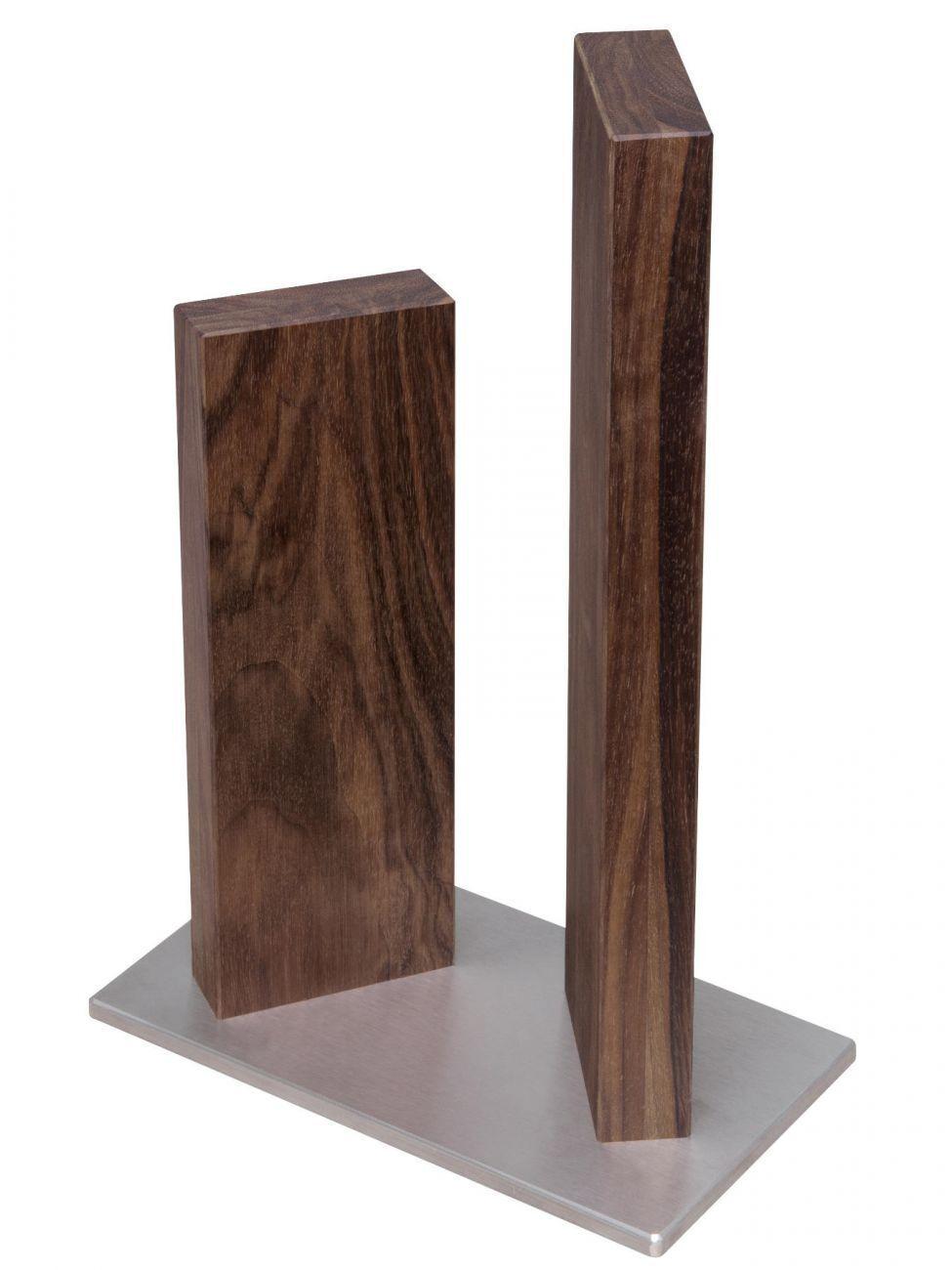 Kai sth-4.1 couteau Bloc Support Stonehenge en acier inoxydable noyer 4 couteaux magnétique
