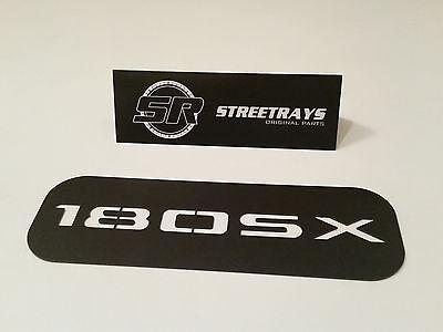"""Black SR /""""180SX /""""Dash AC Vent Cover Panel for S13 240SX 200SX"""
