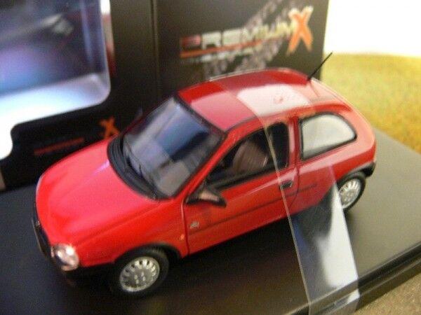 1 43 Ixo Premium X Opel Corsa 1994 red PRD427