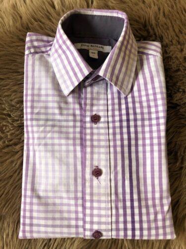 BOYS ISAAC MIZRAHI DESIGNER LAVENDER DRESS SHIRT SIZE 6Y