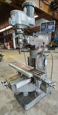 Bridgeport Milling Machine 2hp