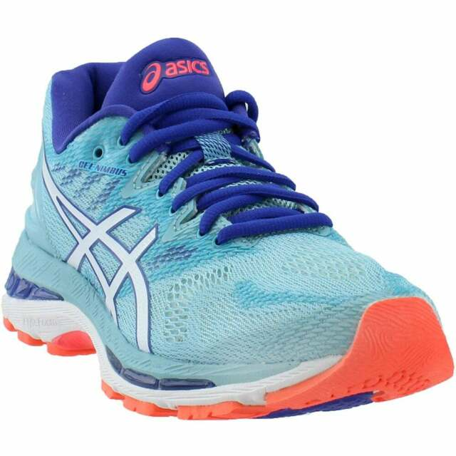 ASICS GEL-Nimbus 20  Casual Running  Shoes Blue Womens - Size 6 B