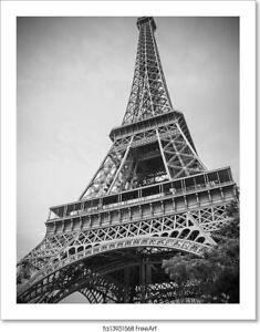 Eiffel Tower Art Print Home Decor Wall Art Poster