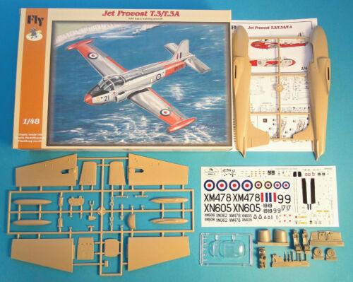 FLY 1//48 Jet Provost T.3//T.3A plastic kit