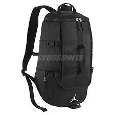 Nike Air Jordan Sportswear Top-Loading Black White Mens Backpack Bag BA8054-010
