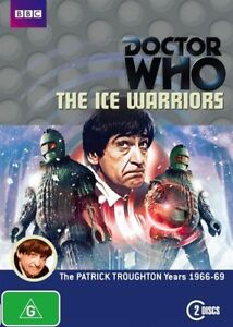 Sealed-Doctor-Who-The-Ice-Warriors-2-dvd-set-R4-Patrick-Troughton-Animated