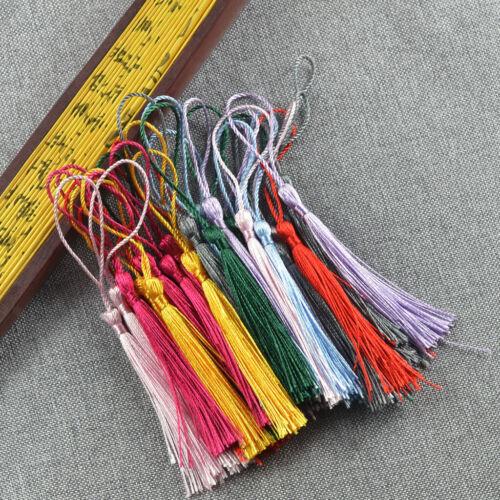 30 Stück bunte klassische chinesische Knoten Quasten mit Schleifen für