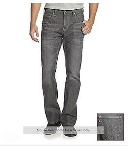 NWT Mens Levis 527 Slim Bootcut Jeans 05527-0247 Quartz Gray 42x30