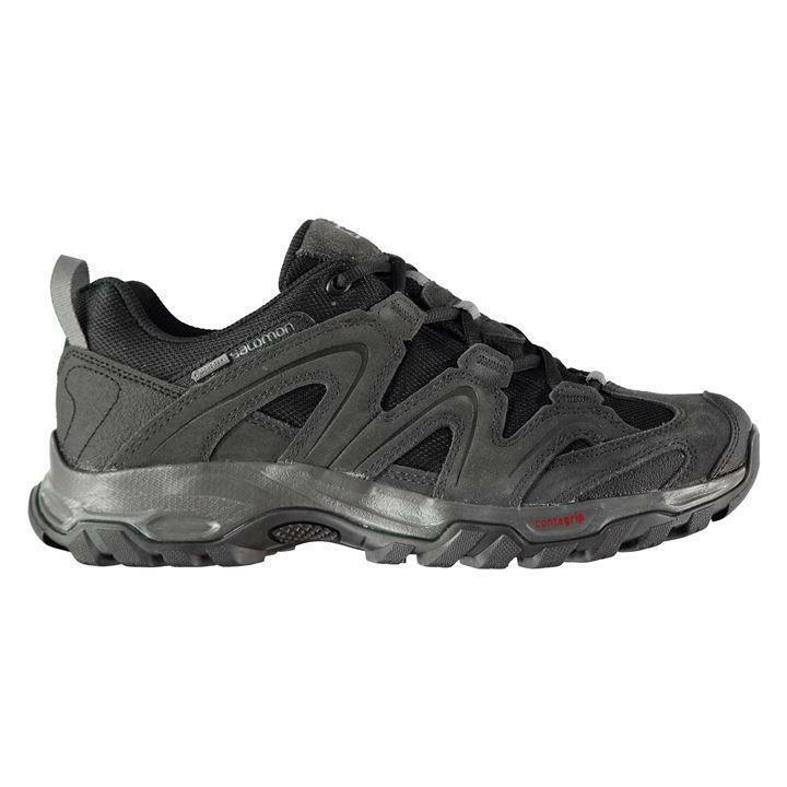 Salomon vandon lo Gtx Hombres Zapatos para Caminar UK 7 nos 7.5 EUR 40.2 3 ref 4004