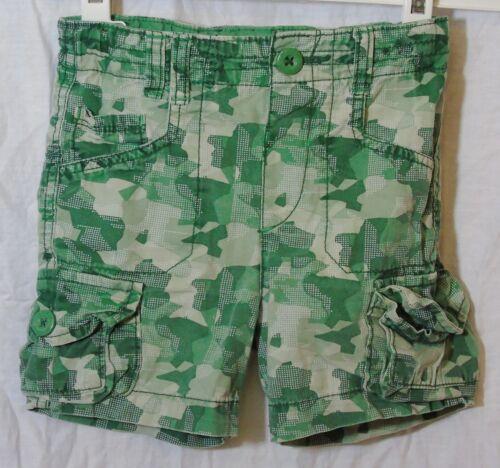 Bébé Garçons Cherokee Vert Camouflage board Cargo Coton Shorts Âge 12-18 Mois