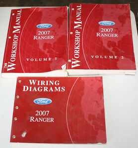 2007    Ford       Ranger       Workshop    Manuals   Wiring    Diagrams    Manual