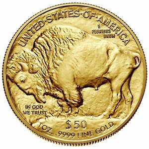 1 oz American Gold Buffalo Random Dated Coin